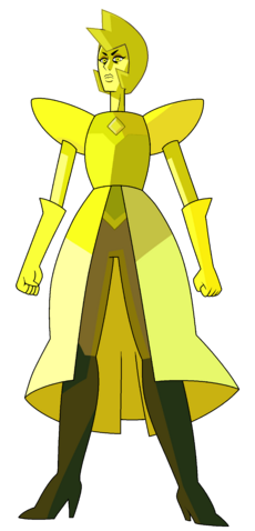 Fichier:Yellow Diamond by Lenhi + Citrine Edit.png