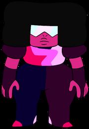 Ruby-sized Garnet