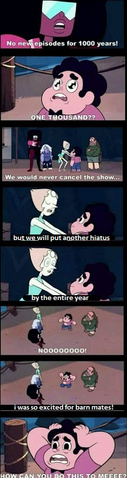No new episodes for the entire year