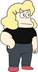 Sadie in black shirt