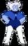 Niebieska Agat