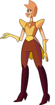 Yellow Diamond (Pink's Legs Palette) by RylerGamerDBS