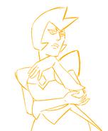 Nicole R Yellowed Diamond