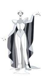 Radiant White Diamond by Red