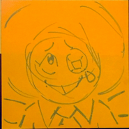 Bluebird Drawing 2