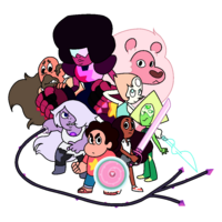 Updated Crystal Gems (and Greg) 2