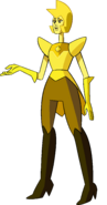 Yellow Diamond (Homeworld Palette) by RylerGamerDBS