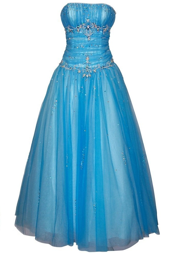 Blue Ball Gown Prom Dresses Under 100 Jpg