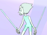 Pearl shattered Pink Diamond