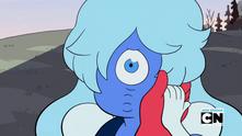 Sapphy one eye