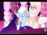 Blue Diamonds Face