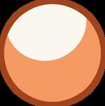 Orange Jade Gemstone