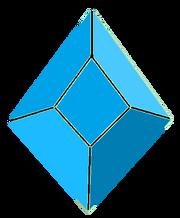 Blue quartz pedra