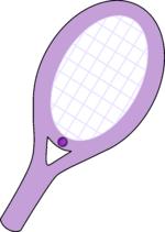 Raqueta de Tenis (Amatista)