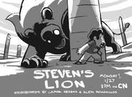 Steven's Lion Artwork