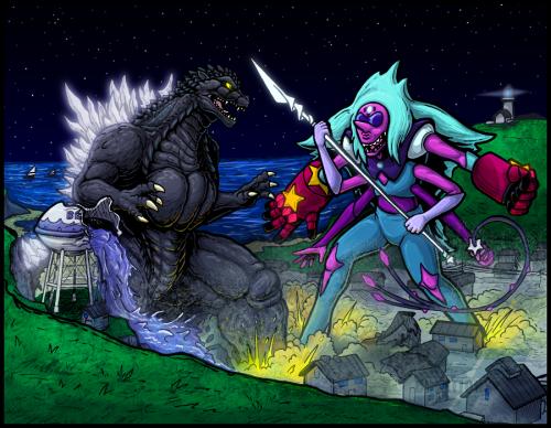 Godzilla vs Alexandrite