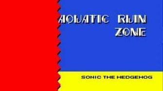 Sonic 2 Music Aquatic Ruin Zone