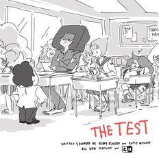 Arte Oficial de O Teste²t