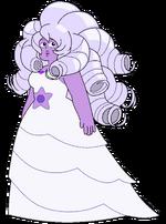 Rose Cuarzo(Amatista)