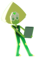 Peridot in Dove Self-Esteem Project x Steven Universe