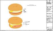 Cheeseburger Sheet 6