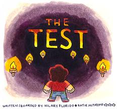 Arte Oficial de O Teste