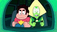 Gem Drill 1- Steven e Peridot