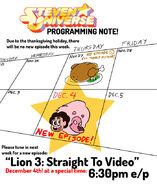 Lion and Steven promo