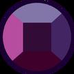Rhodonite Ruby Gemstone (Day Palette) by SaltyPearl