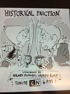 Historical Friction promo by Lauren Zuke