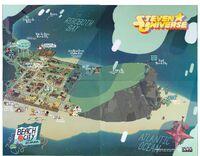 Mapa de Beach City