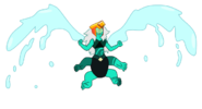 Malachite with Wings and Helmet by King