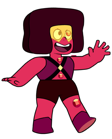 Ruby - Left Shoulder, Left Eye, Left Knee, Belly and Chest Gems