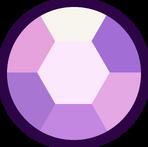 Chest Amethyst gem