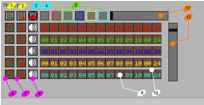 Discription notesequencer