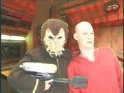 Tsen Kethi pirate and Wesley Crusher
