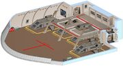 Prometheus class shuttlebay