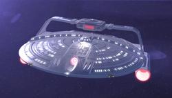 USS Reliant-A - Angle View