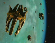 Cardassian orbital weapon platform