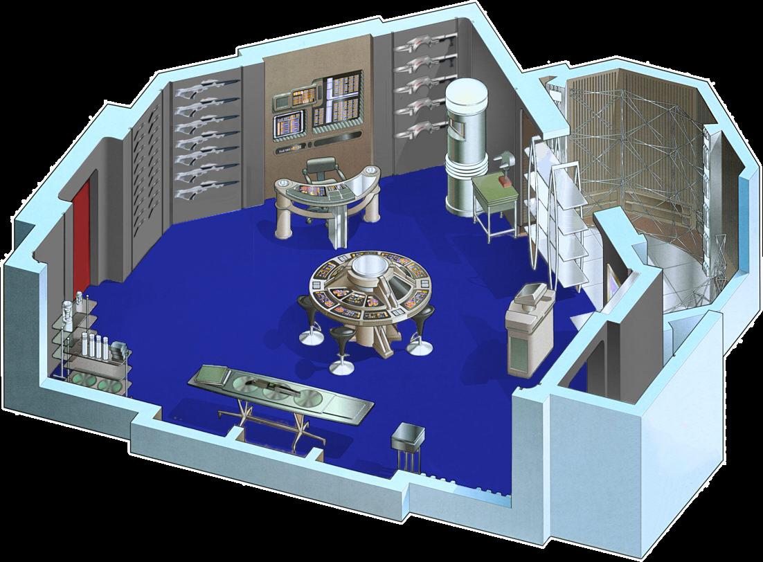 Uss Prometheus Nx 59650 Star Trek Expanded Universe Engineering Schematics The Armory 2374 2386