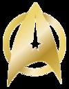 USS Enterprise Command Pin