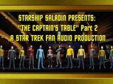The Captain's Table Part 2