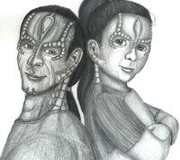 AU Skrain and Ziyal Dukat--I've Got Your Back (small)