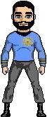 Commander J. Monk, M.D. - Starbase 7