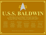 USS Baldwin (NCC-2013)