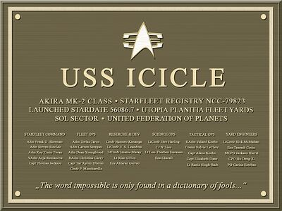 ICICLE-Plakette10b800