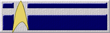 Starfleet Delta Cross Ribbon