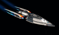 USS Prometheus (post 2386 refit)
