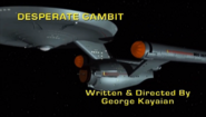 SA Desperate Gambit title card