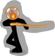 Fire Elemental Concept Art